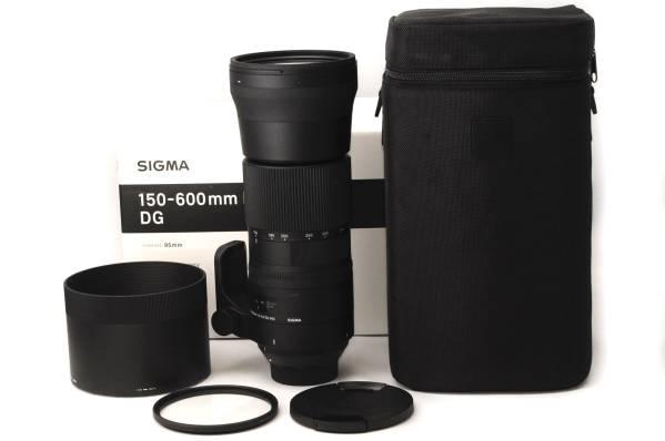 ★新品級★ SIGMA150-600mm F5-6.3 DG OS HSM ニコン #1052