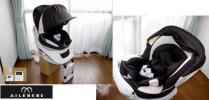 ◆Q◆美品エールベベ 360度回転クルットNTプレミアム◆新生児