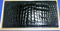 ◆本物クロコダイル無双長財布センター取りシャイニング加工美品