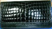◆ミラショーン【mila schon】クロコダイル長財布