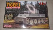 ドラゴン 1/35 WW.II ドイツ軍 ティーガーI 極初期 第502重戦車