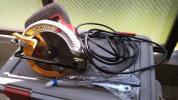 リョービ ブレーキ付き電気丸ノコ W-1700