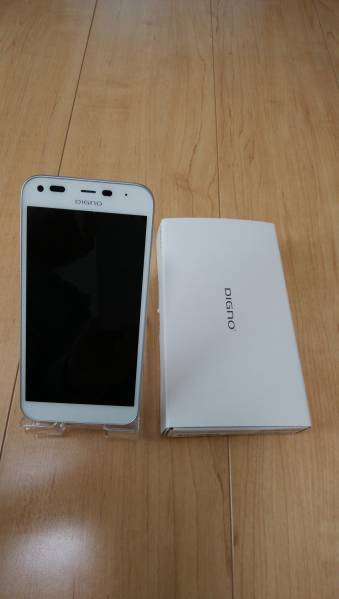 ★Y!mobile 503KC DIGNO E ホワイト_画像1