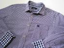 美品 バーバリーブラックレーベル ギンガムチェックシャツ 2