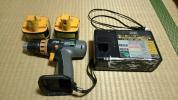 松下電工EZ6402 12V ドリル&ドライバー バッテリー2個&充電器付