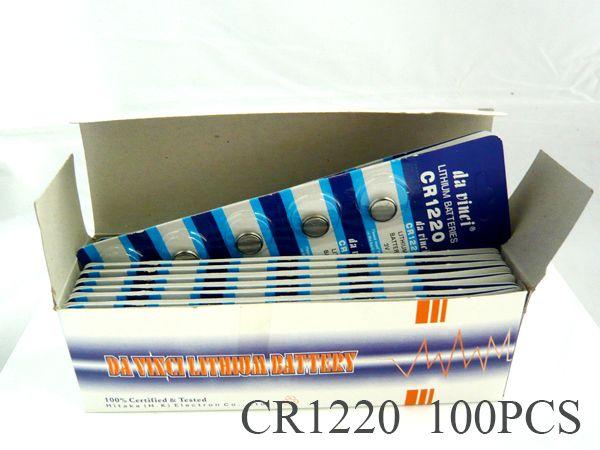 【まとめ買い】★新品即決★ボタン電池CR1220 100個入り!_画像1
