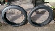 ファットバイク タイヤ 26 × 4.0 2本セット 試走のみ 中古