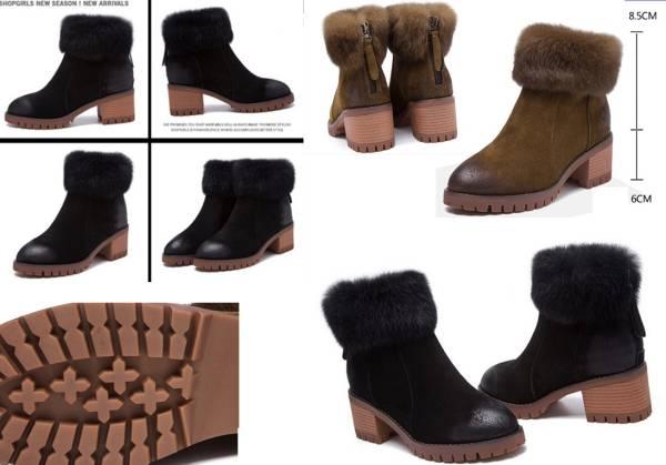 ◆秋冬◆美品◆本革◆ レディース ブーツ黒 ◆