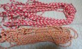 登山用品 ロープ ザイル 命綱 約20m 2点セット