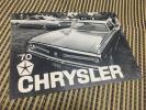 1970年 CHRYSLER カタログ クライスラー 神戸い