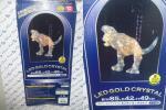 ドウシシャ LEDゴールドクリスタル ミニティラノザウルス ◆