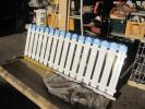 三協アルミ形状フェンス ララミー2型高さ800未使用定価25700円白