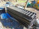 アルミ製のフェンス 大量まとめて約28枚 引き取り限定