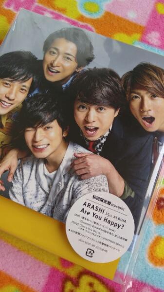 嵐*Are you happy ?初回限定盤*CD +DVD *アルバム美品です♪