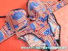 Ox01/ギャル校生用?エメ系の国旗下着SET タンス整理ECO 女装可