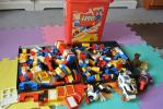 LEGOレゴ 赤いバケツ 基本セット 大量たくさん600パーツ車バイク
