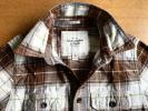 ■アバクロンビー&フィッチ■S/美品厚手ネルシャツ