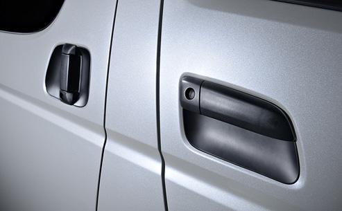 エムテクノ MTS Ⅰ~Ⅲ型ハイエース用 FRP製 塗装済 ドアプロ