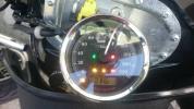 ブレイクアウト FXSB 純正スピードメーター 走行2100kmぐらい