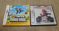 DS ニュースーパーマリオブラザーズ マリオカート 2本セット