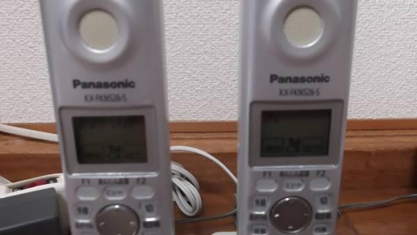 Panasonic パナソニック コードレス 電話機 VE-GP33-S 子機2台付_画像3