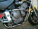 ホーネット600エンジンガード(バンパー プロテクター スライダ)