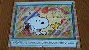 ★スヌーピー★ 2017年 壁掛けカレンダー NISSAY