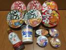 ★カップ麺・缶詰・お菓子等★30点以上詰め合わせ・100サイズ