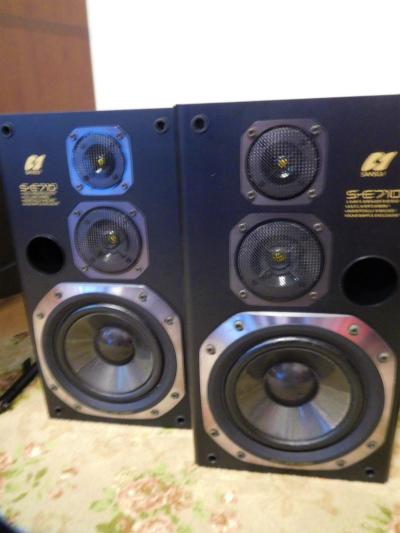 SANSUI S-E710 . 3WAY 3 speaker{ pair} operation goods: Real Yahoo ...
