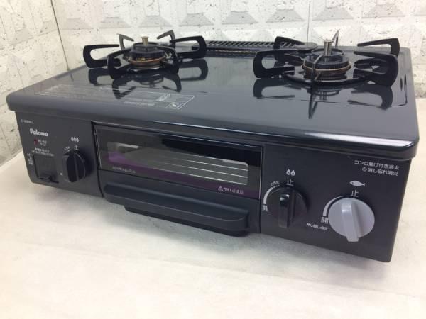 【送料無料1円~】パロマ LPガス ガステーブル IC-N30B-L 16年