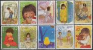 童画のノスタルジーシリーズ第3集 林明子  使用済み10種