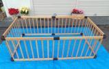 きれい★木製★ベビーサークル★パネル6枚/約173X89cm