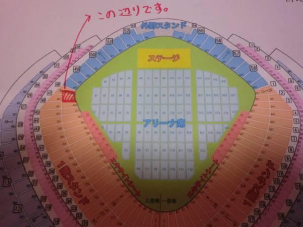 ステージ近★12/26(月) 嵐 東京ドーム スタンド1階 1枚①
