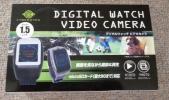 新品 LCD液晶搭載 デジタルウォッチ ビデオカメラ DWV