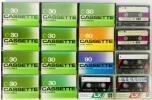 ■レア ヴィンテージ 古い COLUMBIA カセットテープ 16本