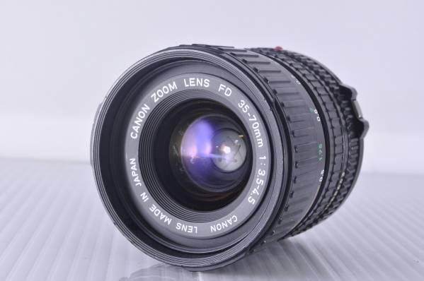 ★極上★CANON NEW FD 35-70mm F3.5-4.5 #3802