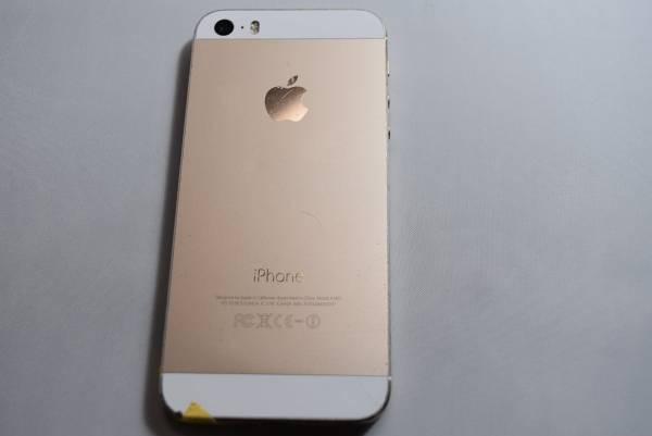 ドコモ iPhone5s 64GB ゴールド NE340J/A 判定〇 ジャンク