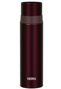 ■新品■サーモス 水筒 ステンレススリムボトル 0.5L ブラウン FFM-500 BW