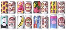 8種セットキリンラガービール アンディウォーホル限定デザイン缶
