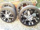 【XR grande BP13】ハイエース200系用 タイヤ付4本セット