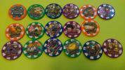妖怪ウォッチ 妖怪メダルドリーム02 17種セミコンプ 数4
