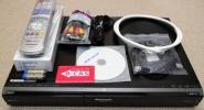 2番組W録画/DVDレコーダー Panasonic DMR-XW100■新品リモコン a