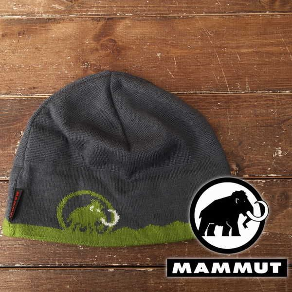 美品 マムート Mammut ニット帽 登山 アウトドア 9120