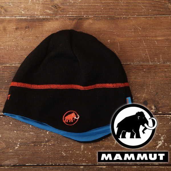 良品 マムート Mammut ニット帽 登山 アウトドア 9118