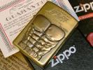 真鍮 北斗の拳 限定 Trick Zippo ケンシロウ 七つの傷ver USED