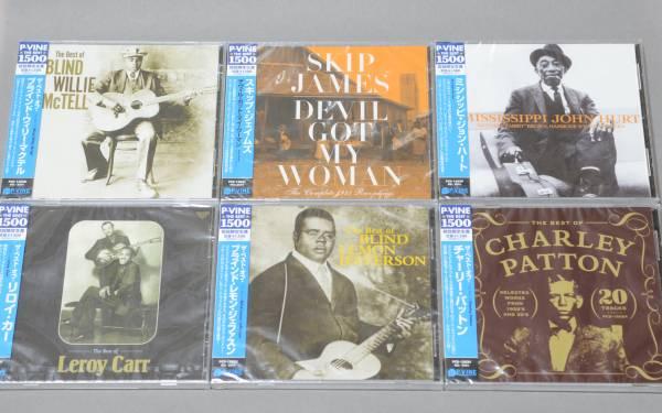 新品♪ 定番・戦前カントリー・ブルース 人気6CDセット!