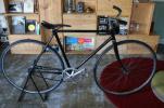 ピストバイク ブラック シングルギヤ コースターブレーキ