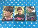 SHINee★1and1 SUM COEX 公式 ステッカー 3枚★オニュ オンユ