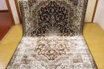 高級天然シルク100% ペルシャ柄絨毯 新品未使用 150×230訳あり