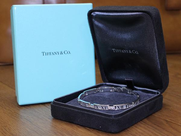 絶盤 ティファニー TIFFANY 最高級フルダイヤセッティング K18 ホワイトゴールド アトラス ブレスレット バングル 24.7g 本物保証 正規品